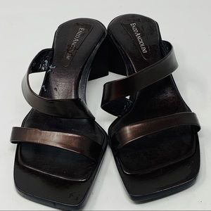 Enzo Angiolini | Brown Sandals\ Slides